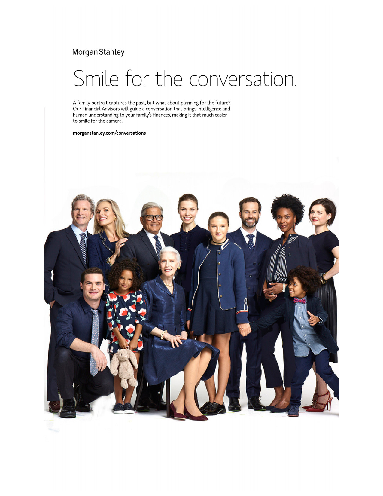 Morgan Stanley: Family Portrait
