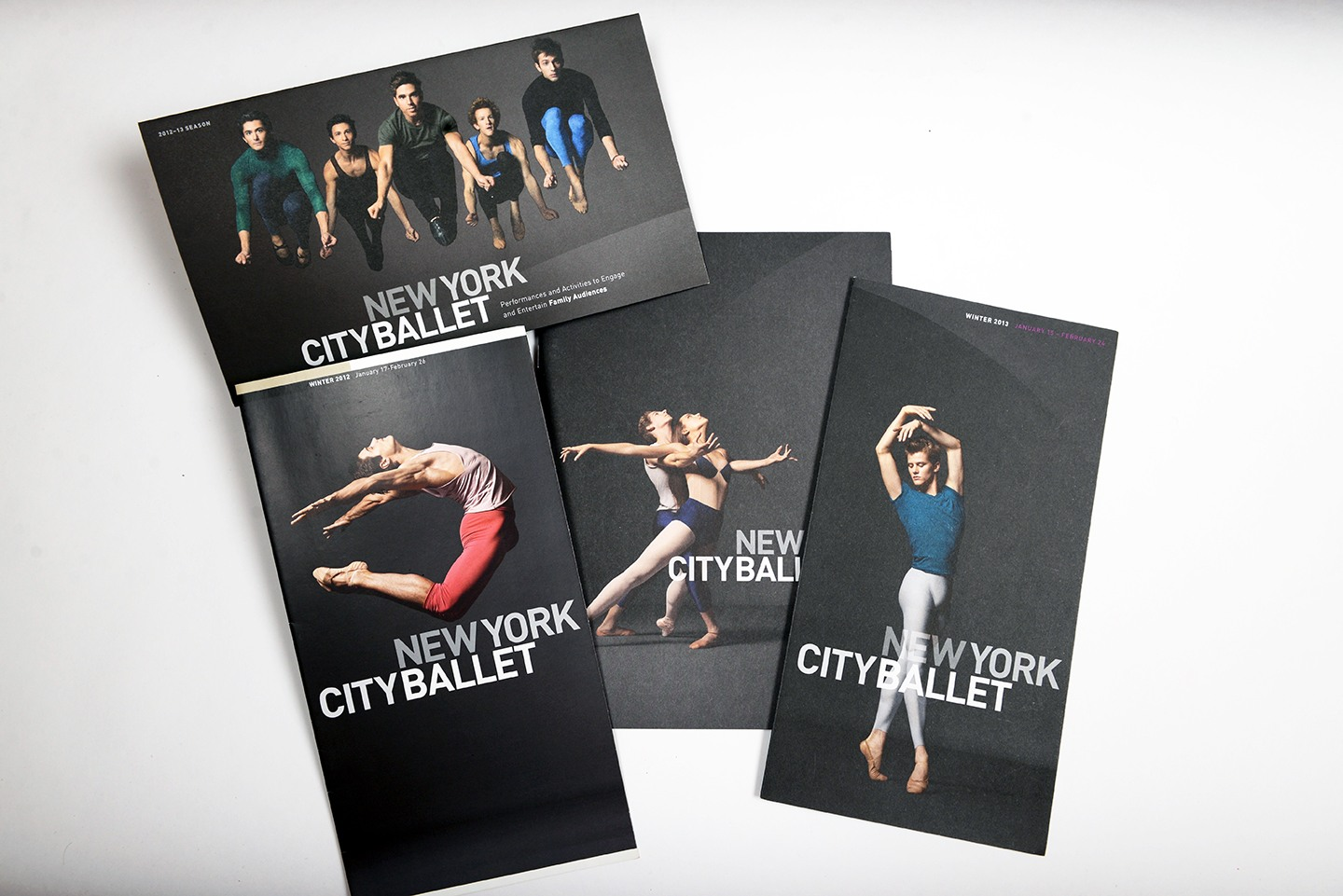 New York City Ballet marketing materials