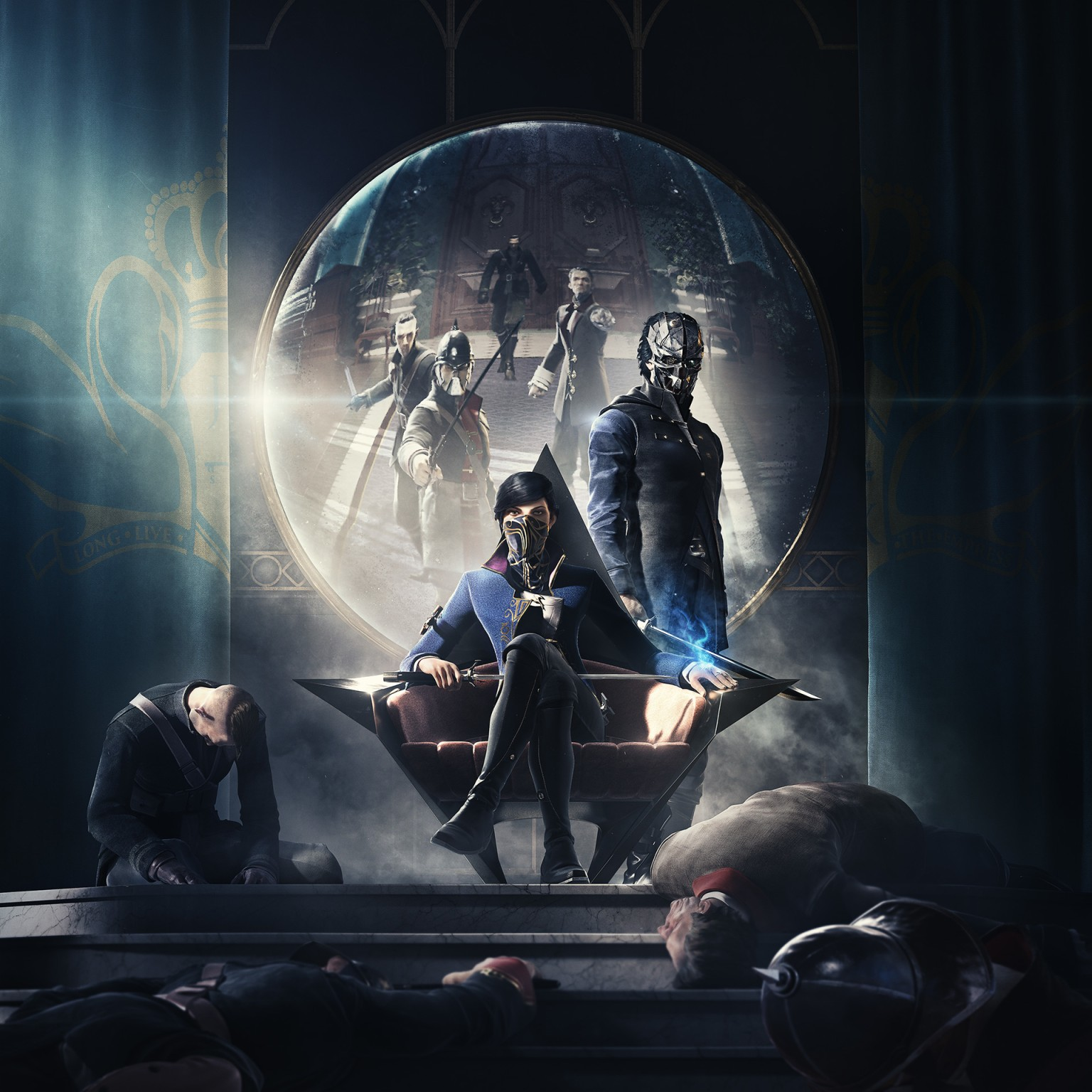 Dishonored 2 Key Art
