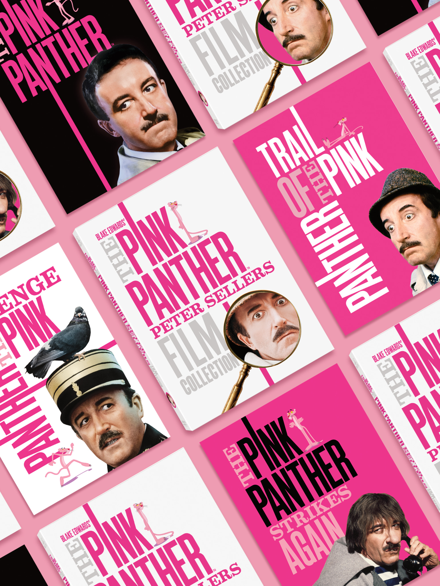 The Pink Panther Peter Sellers Film Collection