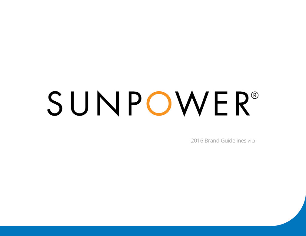 SunPower Rebrand