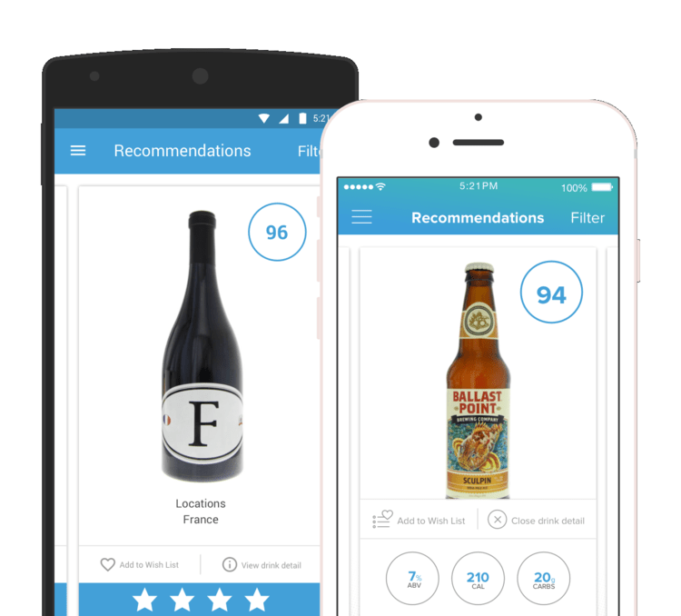 Product Management for iOS and Android Beer and Wine app