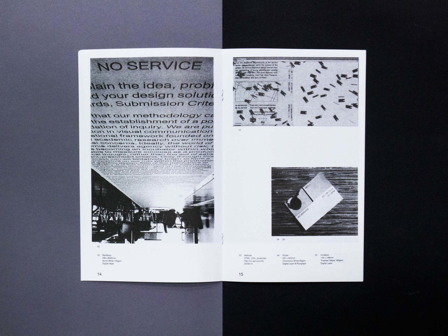 No Service Exhibition