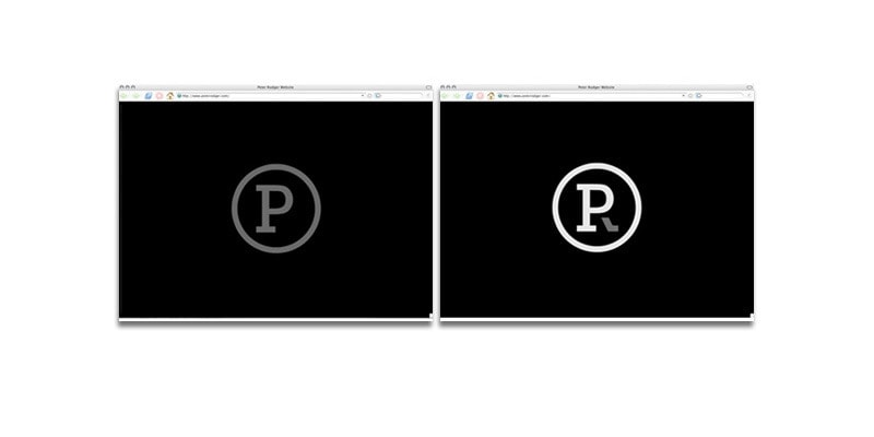Peter Rodger Photography - Visual Identity