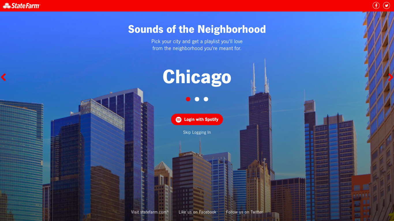 State Farm's Sounds of the Neighborhood