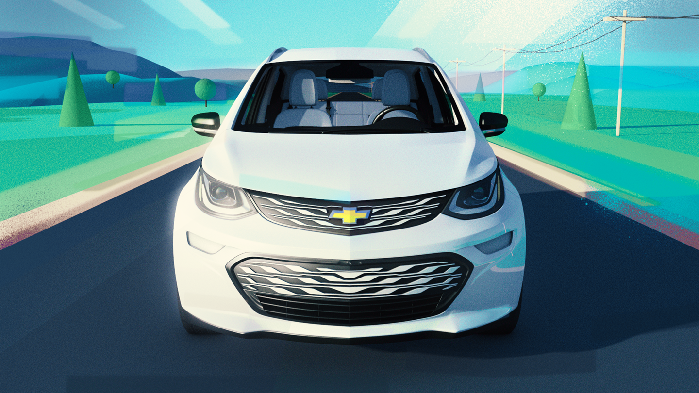 Chevy Bolt: Style frames and story boards