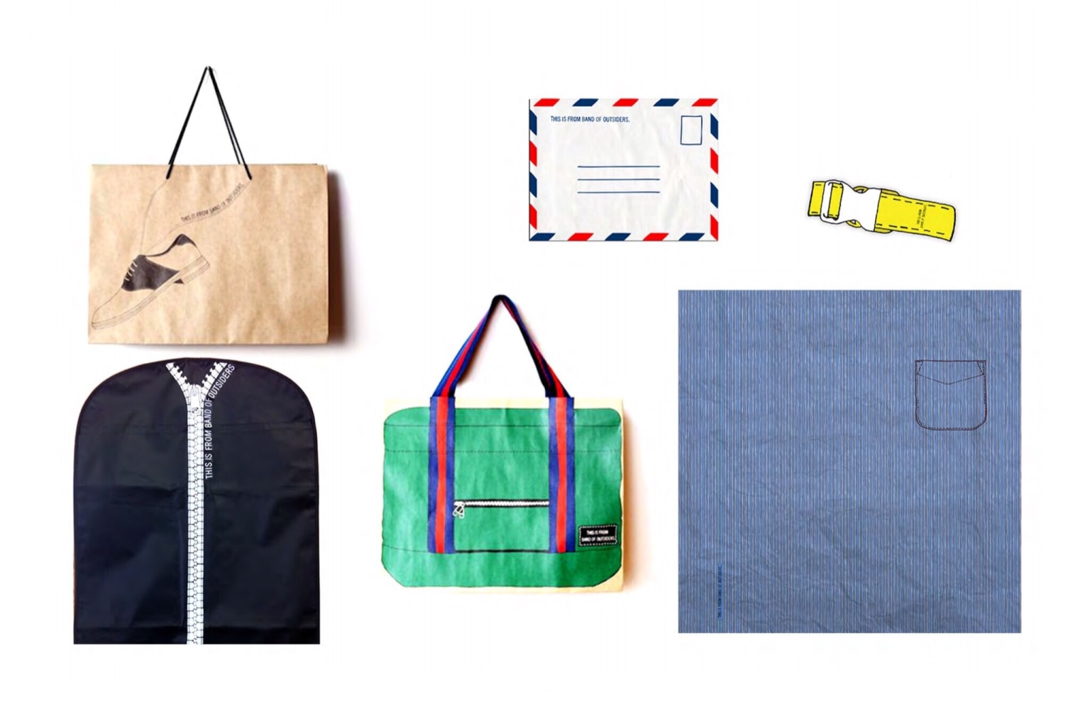 Band of Outsiders Packaging