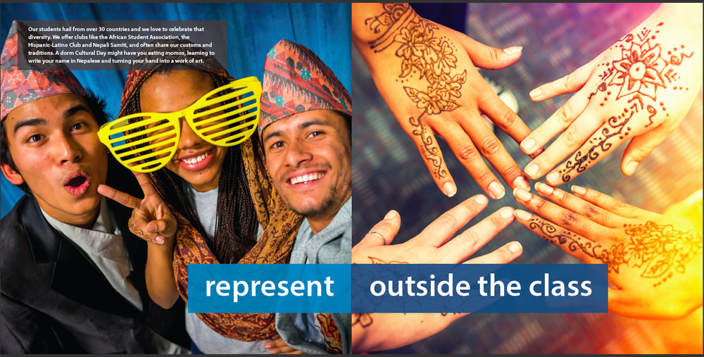 Colby-Sawyer 'Think Outside the Class' campaign