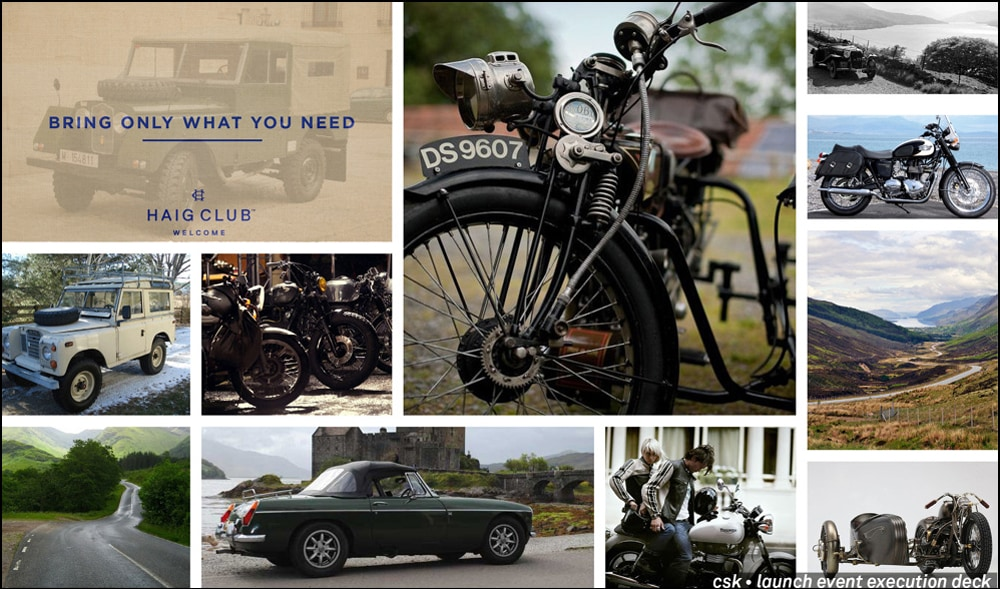 Bring Only What You Need – Haig Club Global Launch