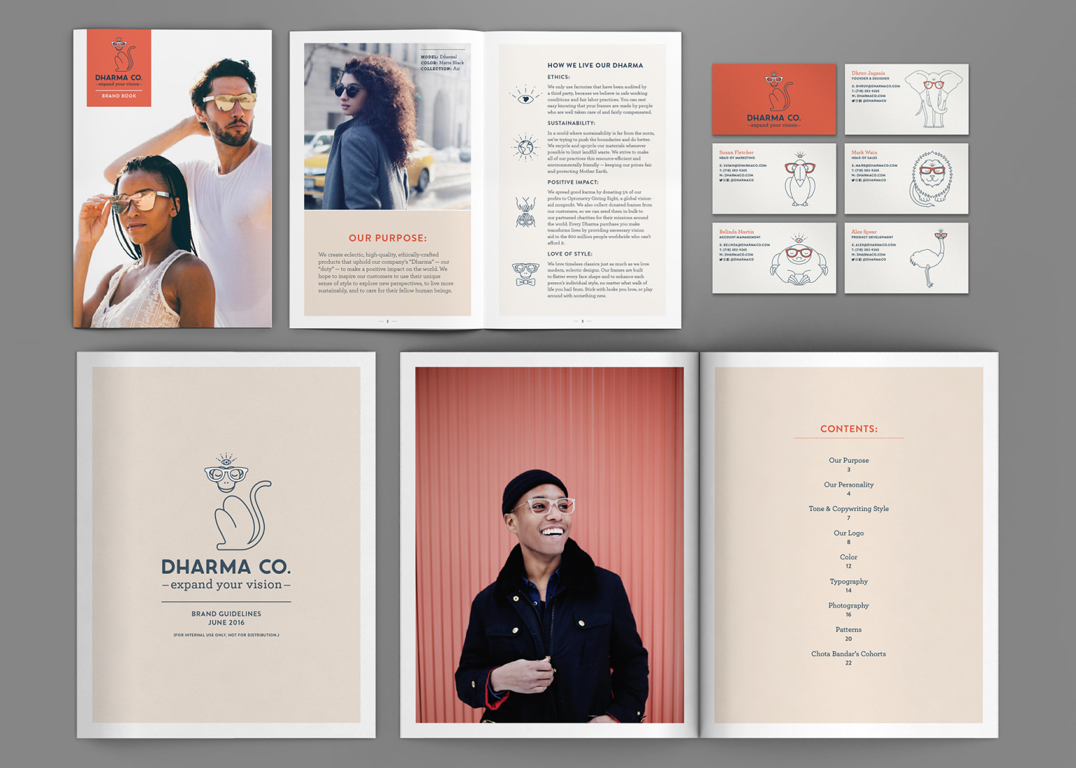 Dharma Co. Branding and Design