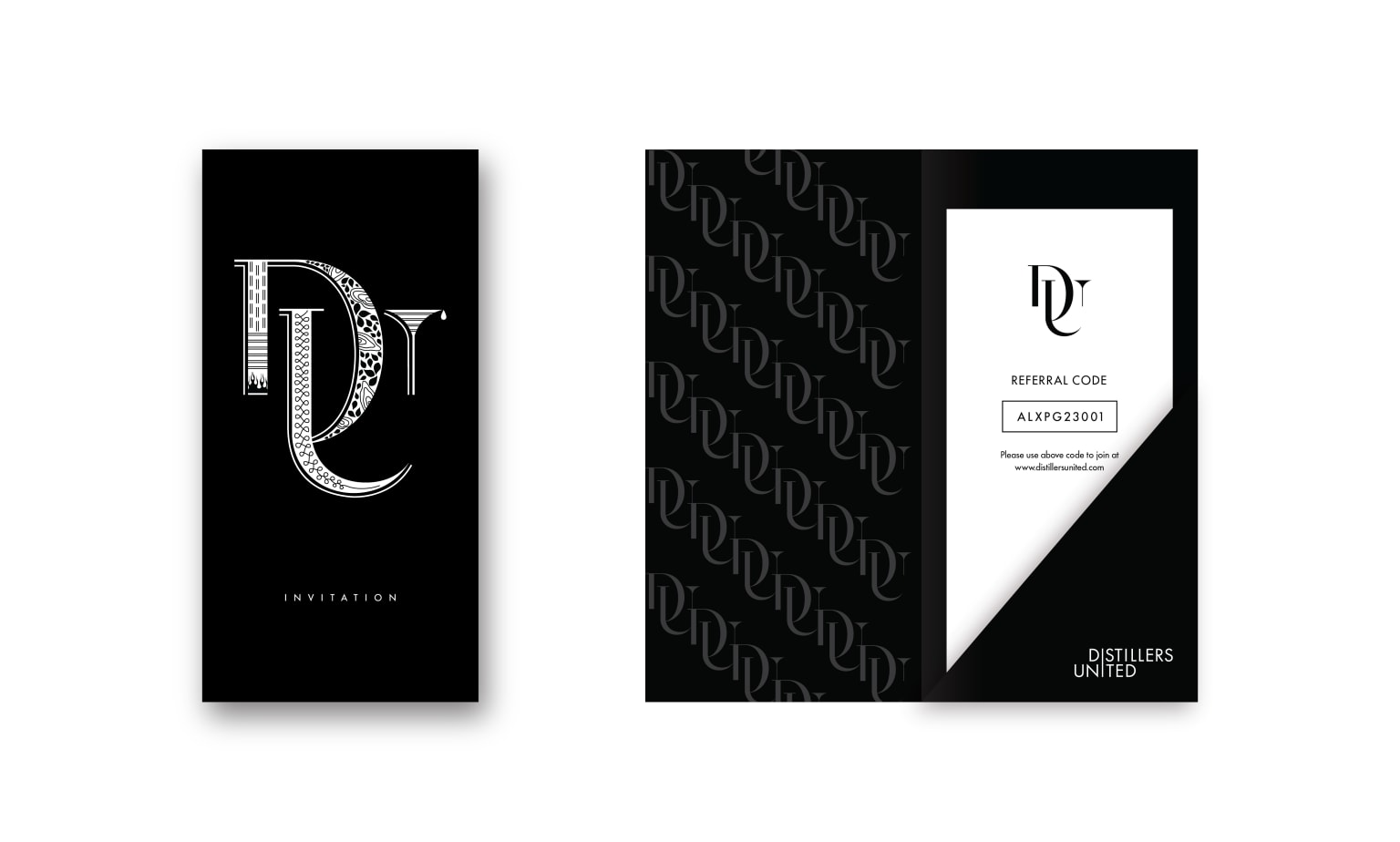 Distillers United | Brand Identity and Website