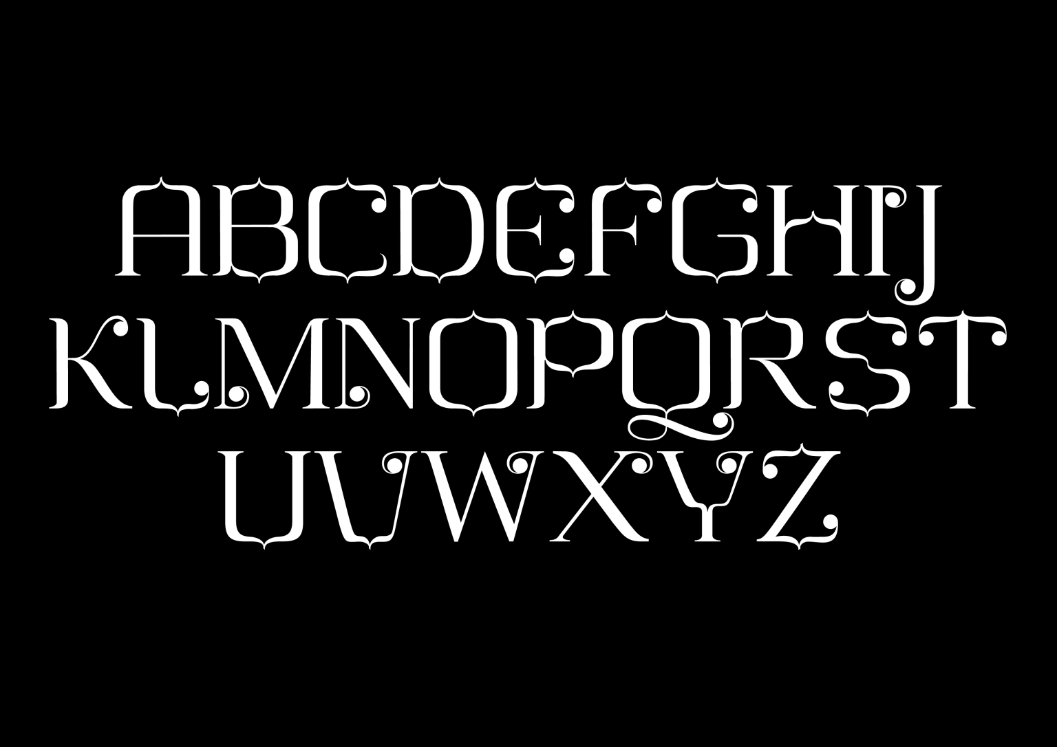 Typeface Arch