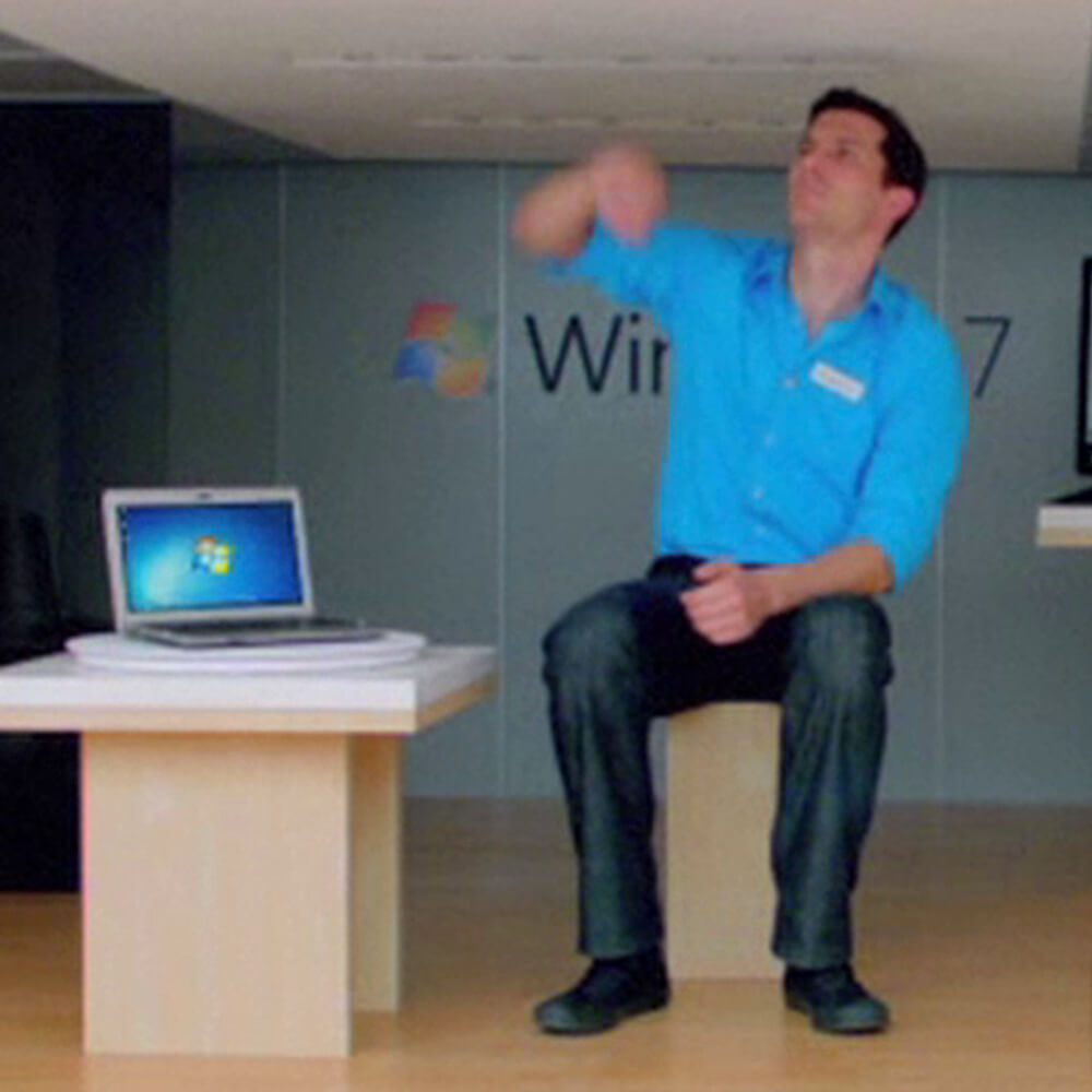 Microsoft: World's Tiniest PC Store