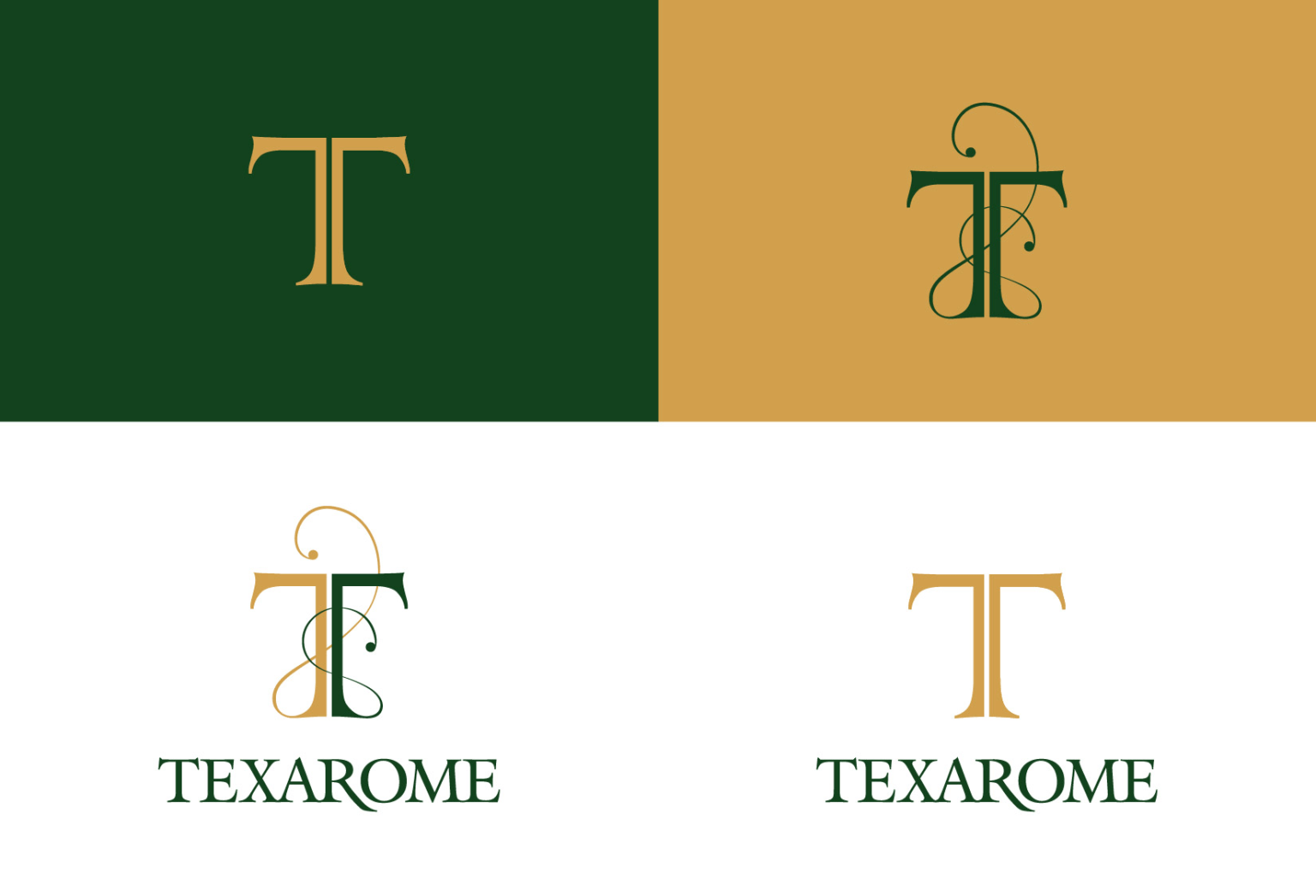 Texarome | Brand Identity and Stationary design