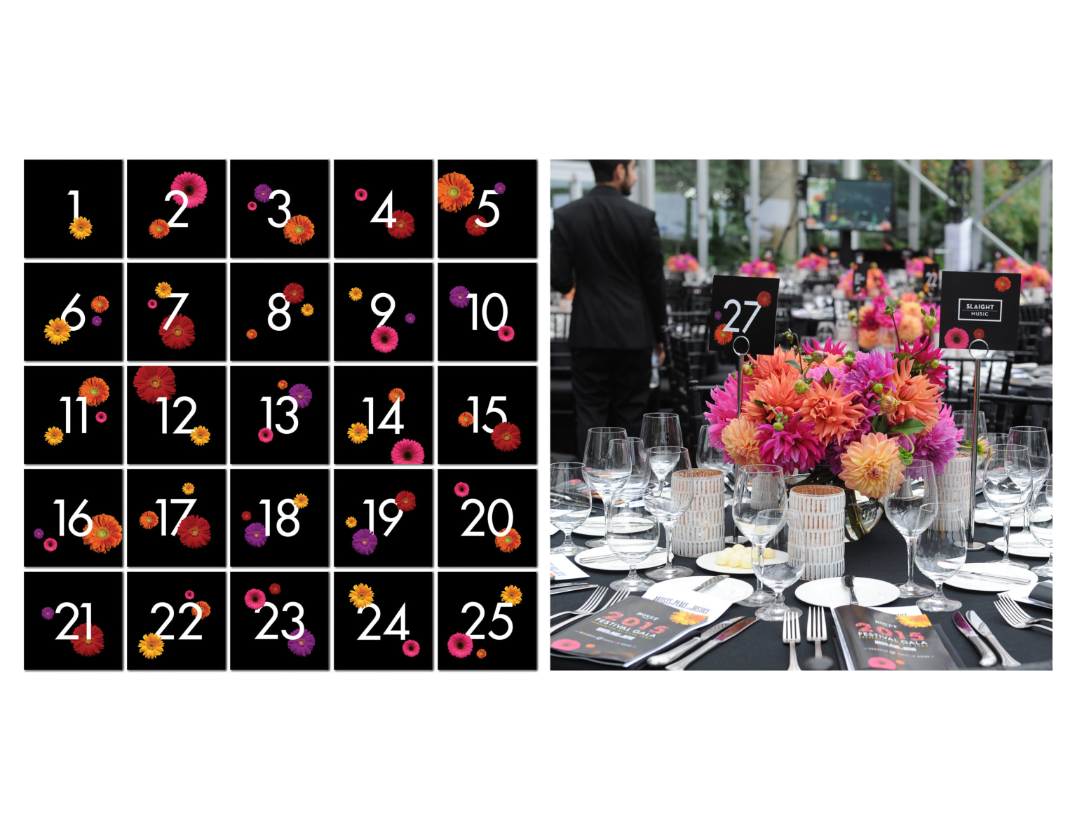 2015 Festival Gala | Event Branding and Collaterals