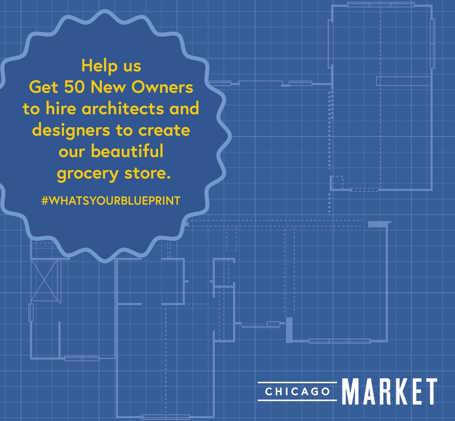 #WhatsYourBlueprint Campaign