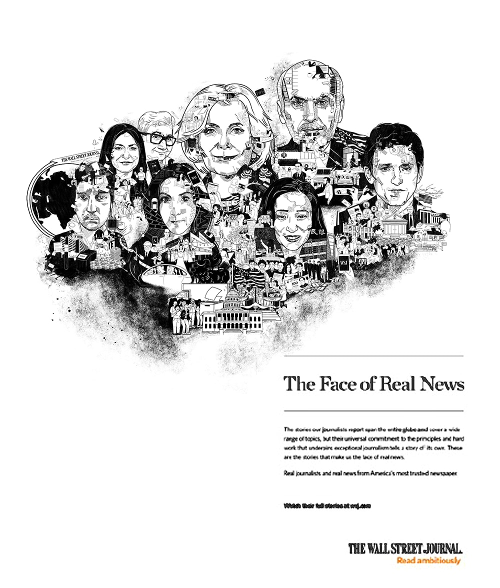 "The Wall Street Journal's ""The Real Face of News"""
