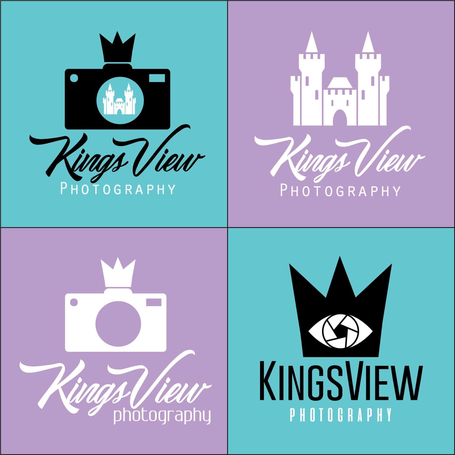 Kingsview Photography Logo Design