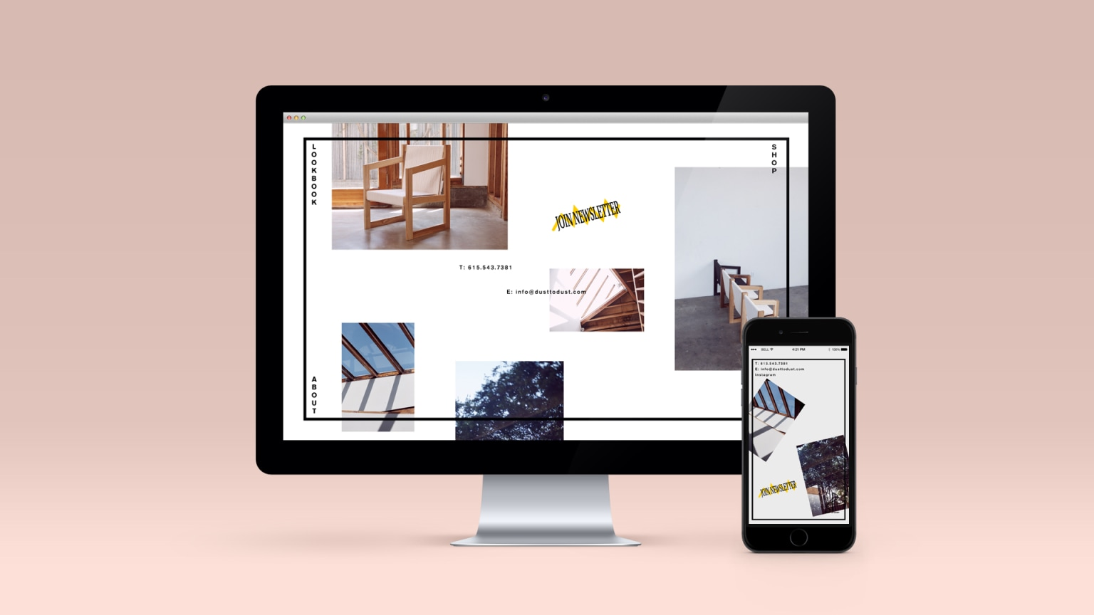 Dust To Dust Furniture Website