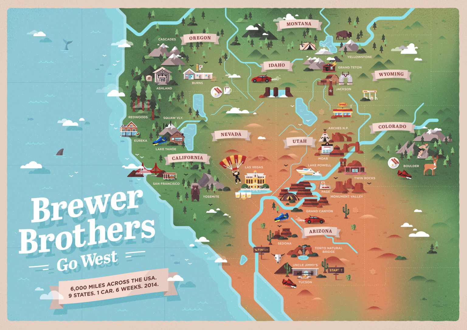 Brewer Brothers Go West