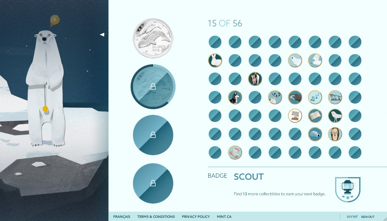Royal Canadian Mint: Heart of the Arctic