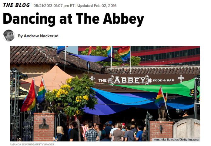 Huff Post - Dancing at the Abbey