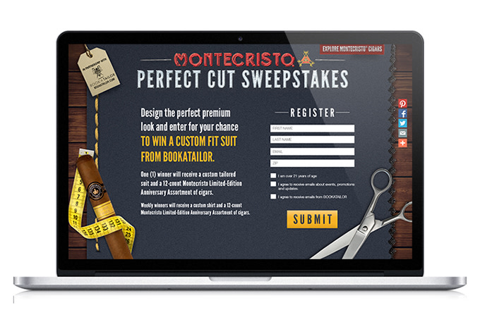 MONTECRISTO PERFECT CUT SWEEPSTAKES