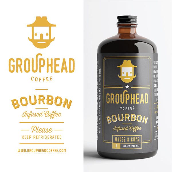 Grouphead Coffee Branding & Packaging