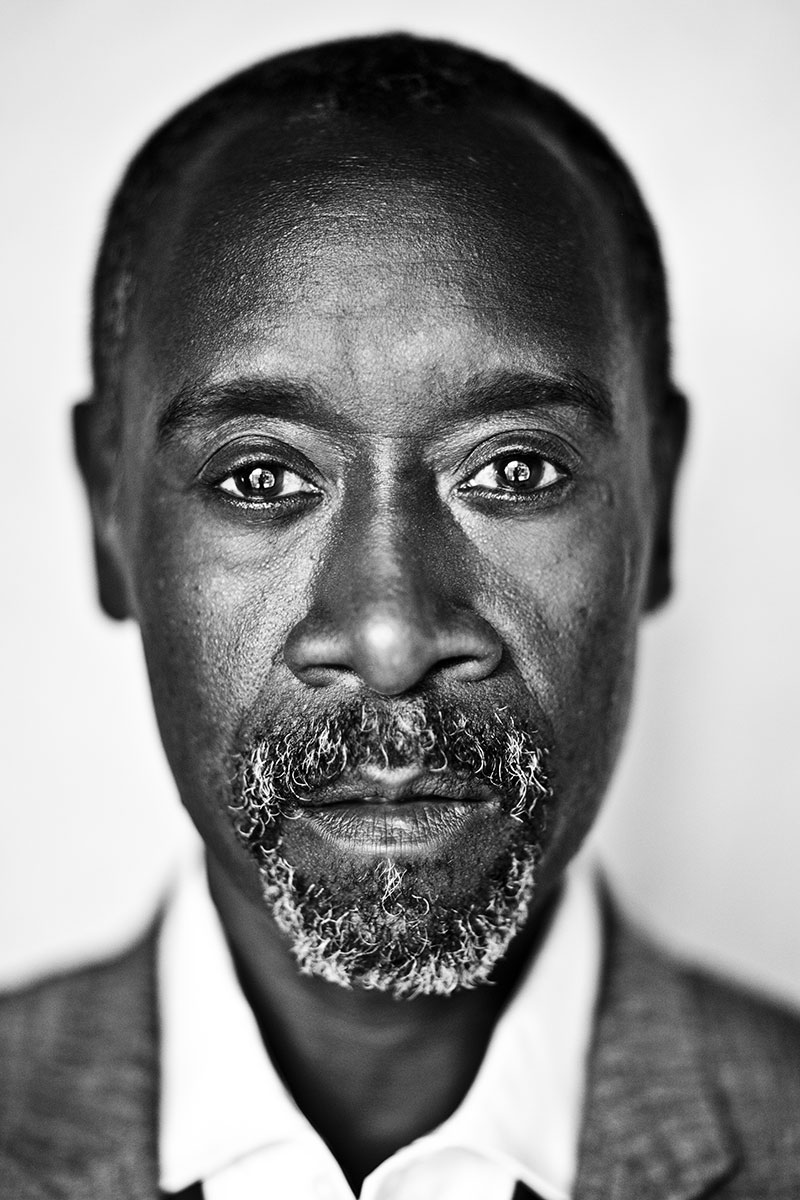 Don Cheadle for The Guardian Weekend