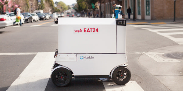 Delivery Robots: Coming to a Sidewalk Near You