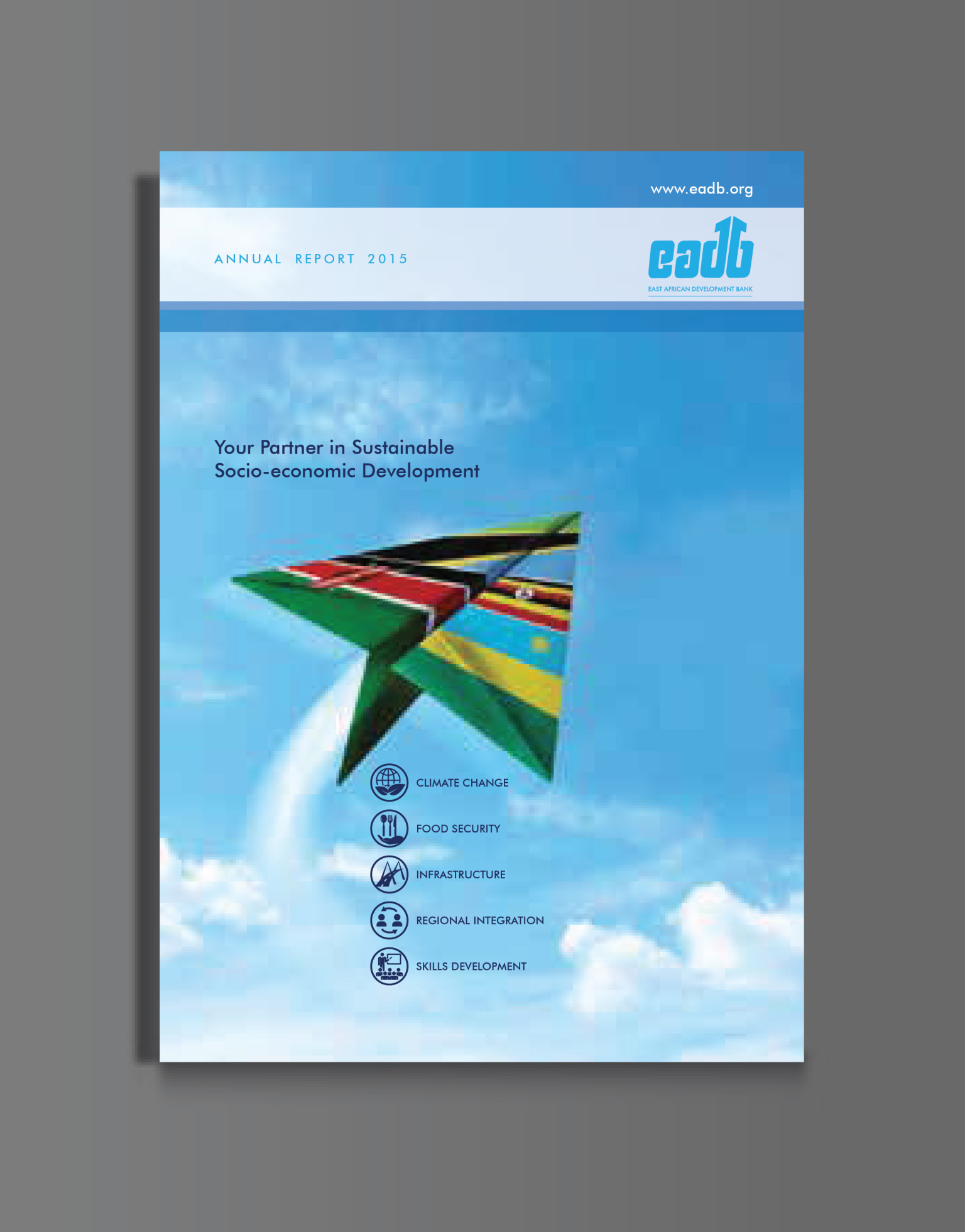 EADB Annual Report Design & Layout