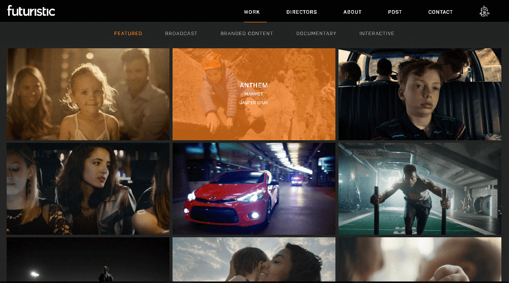 Futuristic Films Website