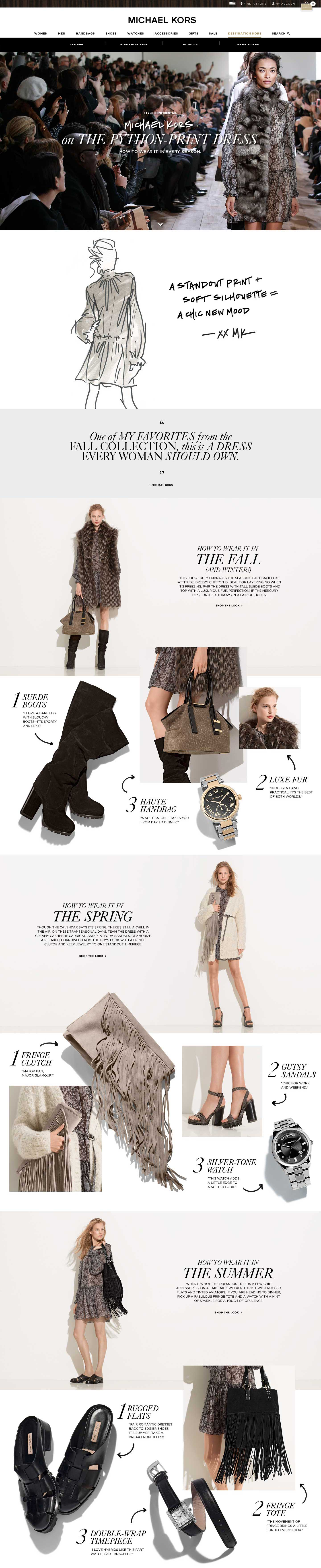 Michael Kors Collection : Style Confidential