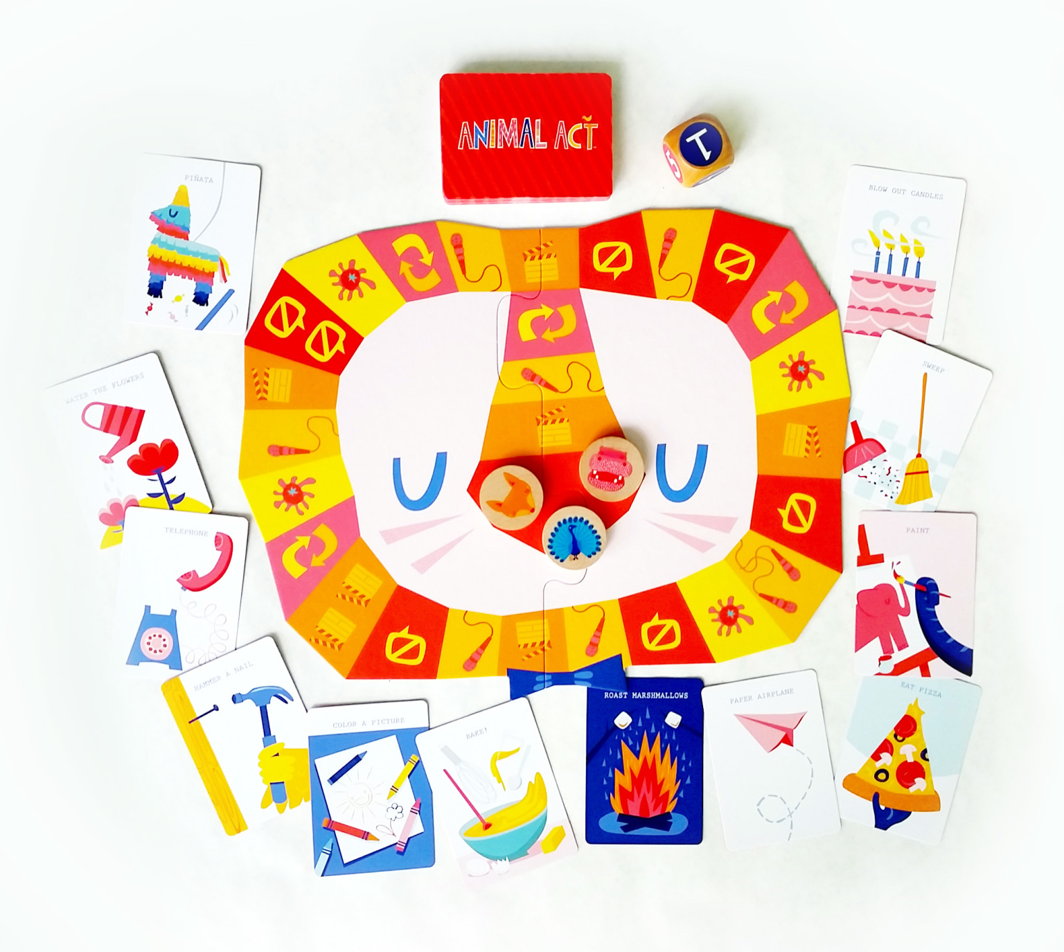 Silly Street Board Game