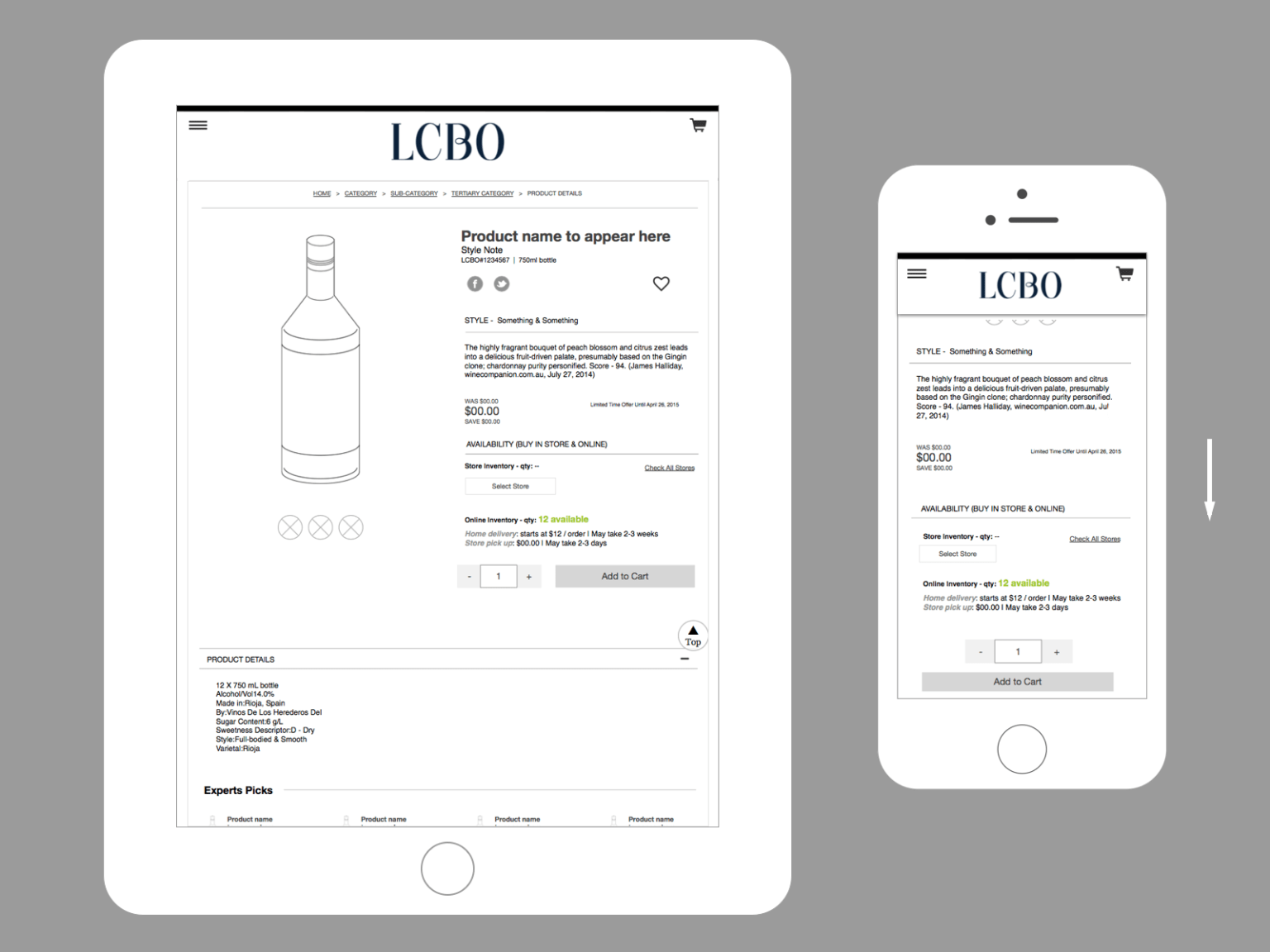 LCBO eCommerce Introduction