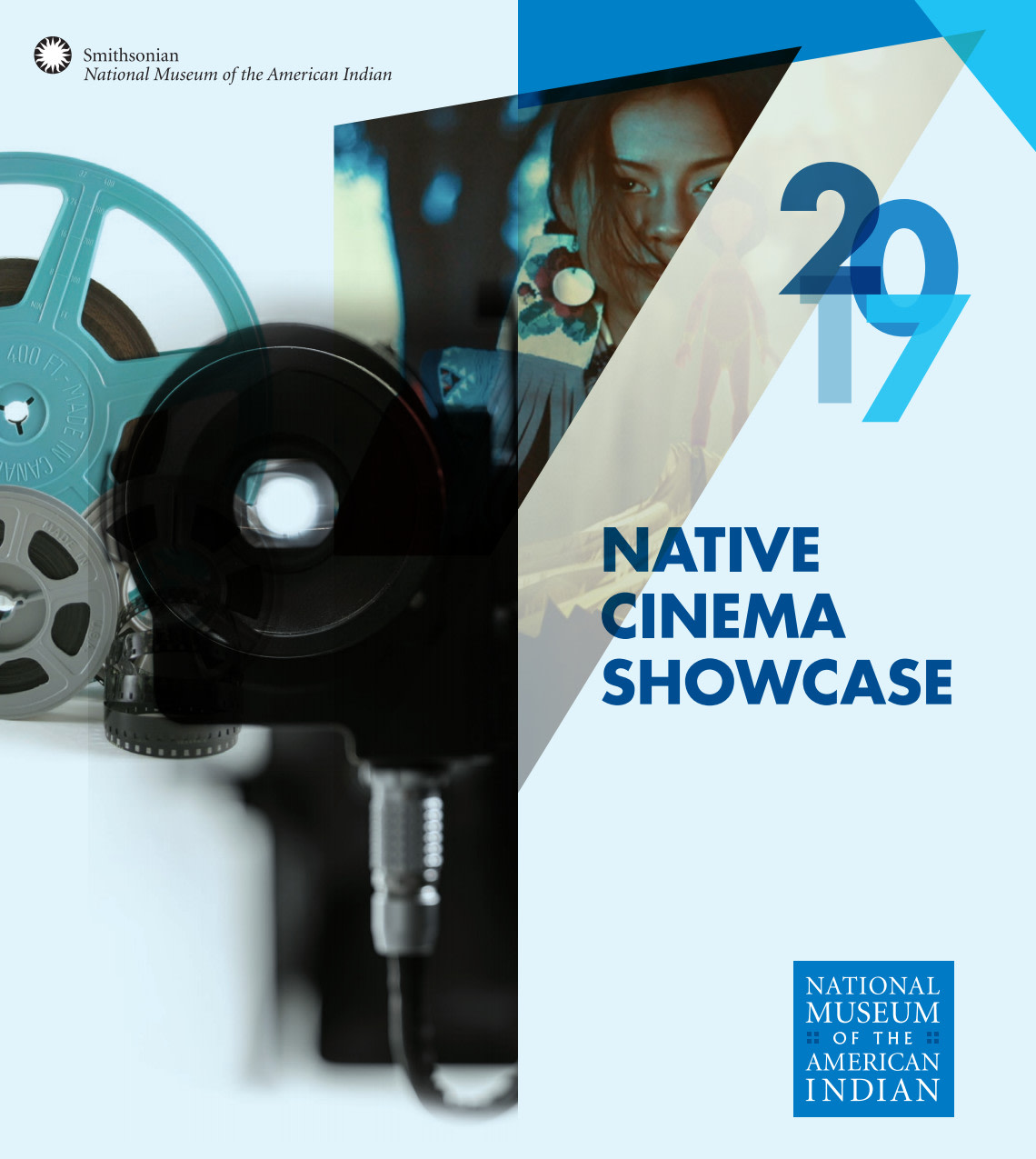 Smithsonian's National Museum of the American Indian Film Festival Identity and Brochure