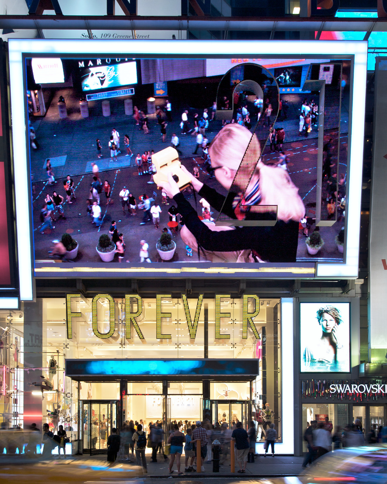 Forever 21  // Interactive Billboard in Times Square