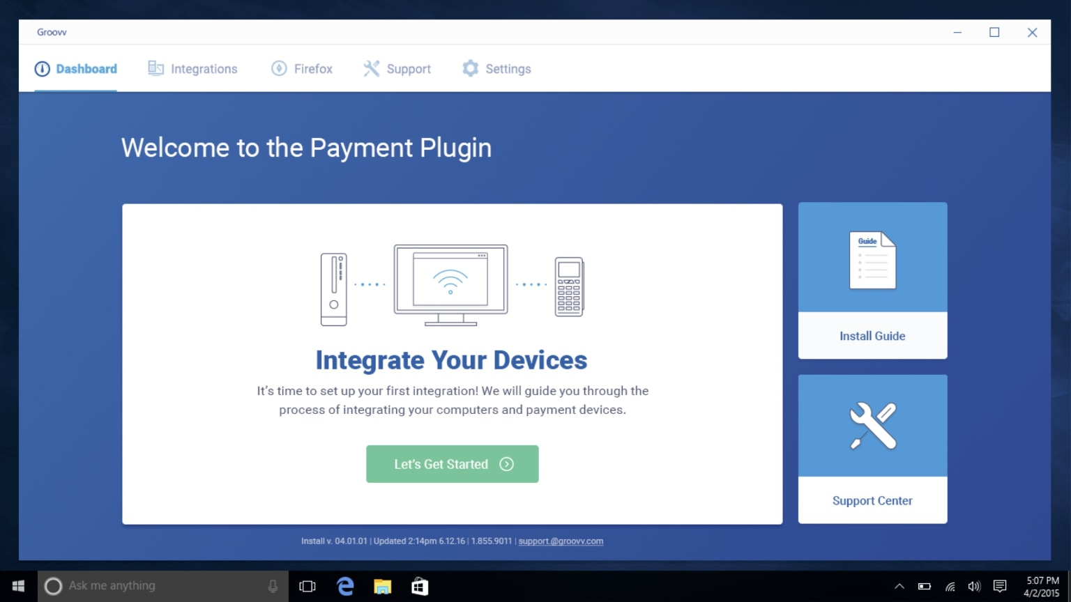 Groovv Payment Plugin