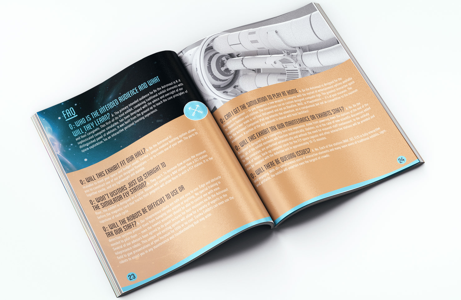 Be The Astronaut Exhibit and Collateral Design