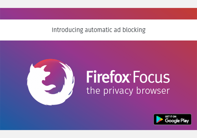 Firefox Focus Launch for Android