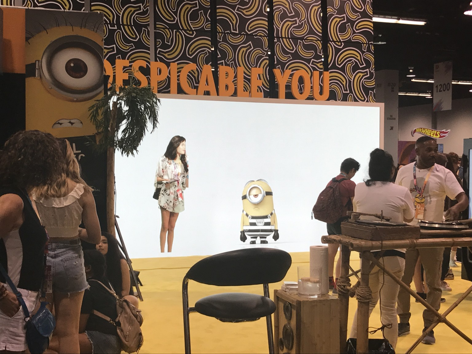 Despicable Me 3 Brand Activation at Vidcon 2017