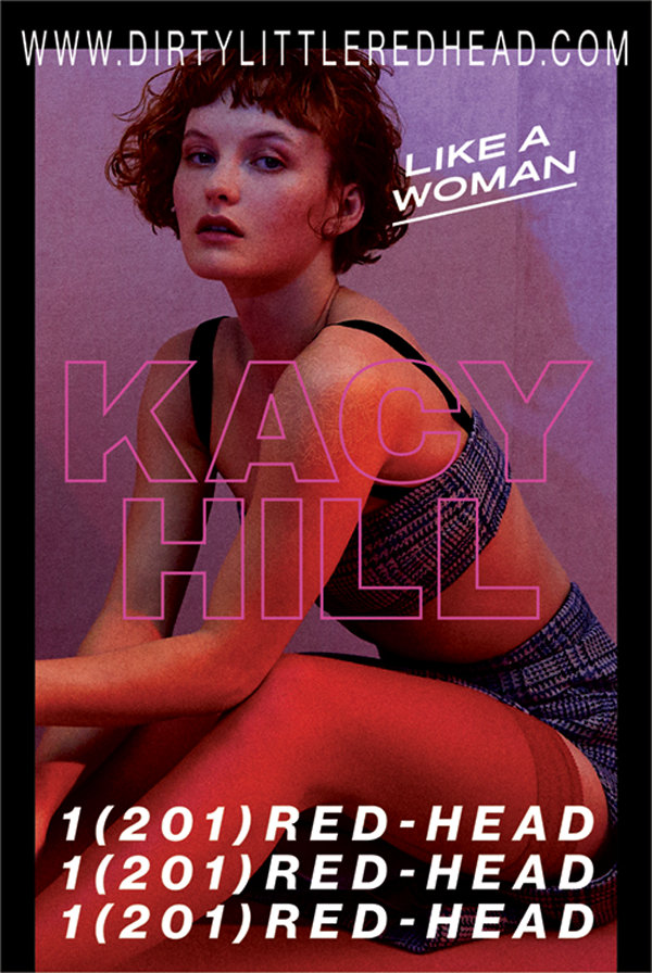 Kacy Hill Launch Campaign