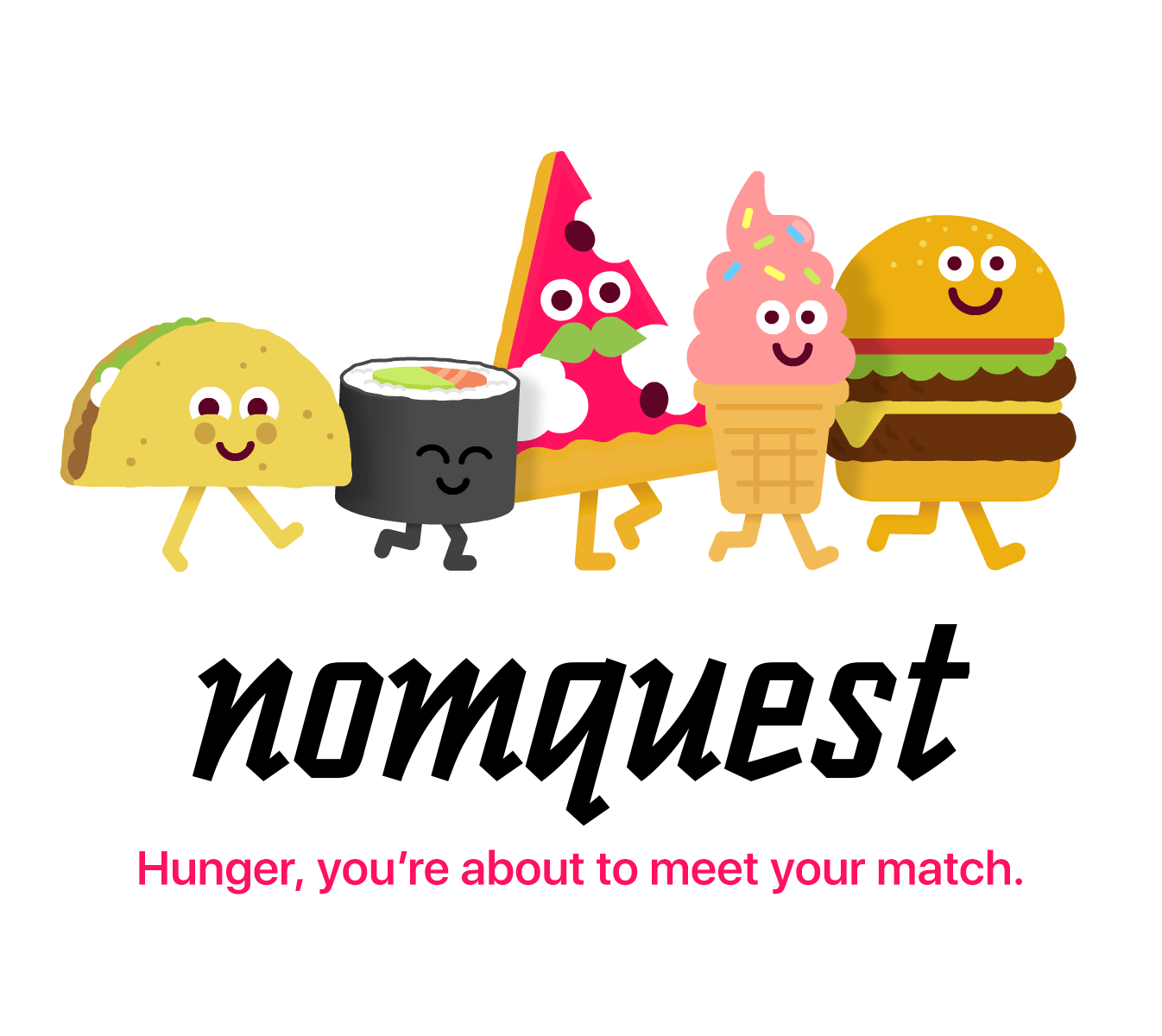 Nomquest - food discovery app