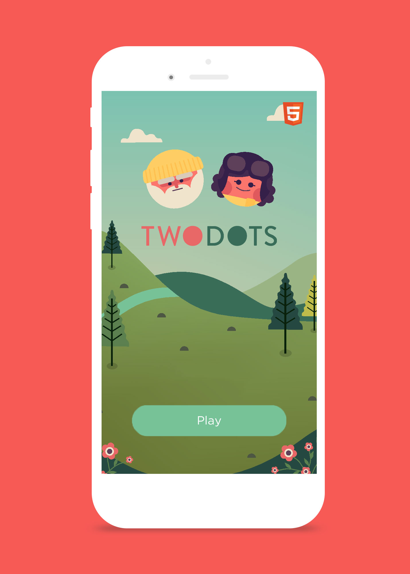 Two Dots, HTML5