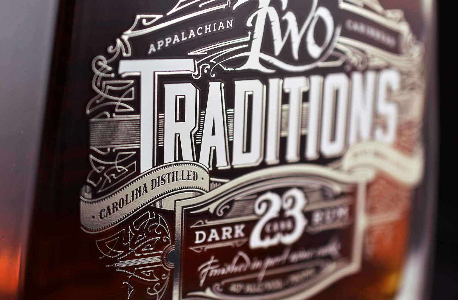 Two Traditions Dark 23 Rum