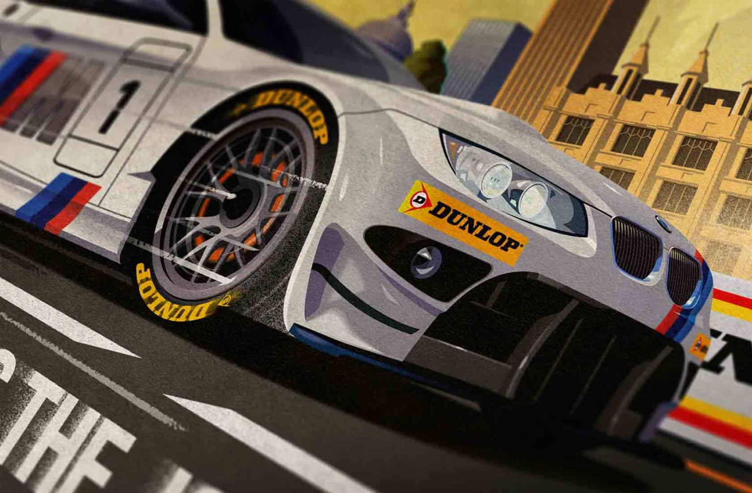 Dunlop Tires Poster Campaign