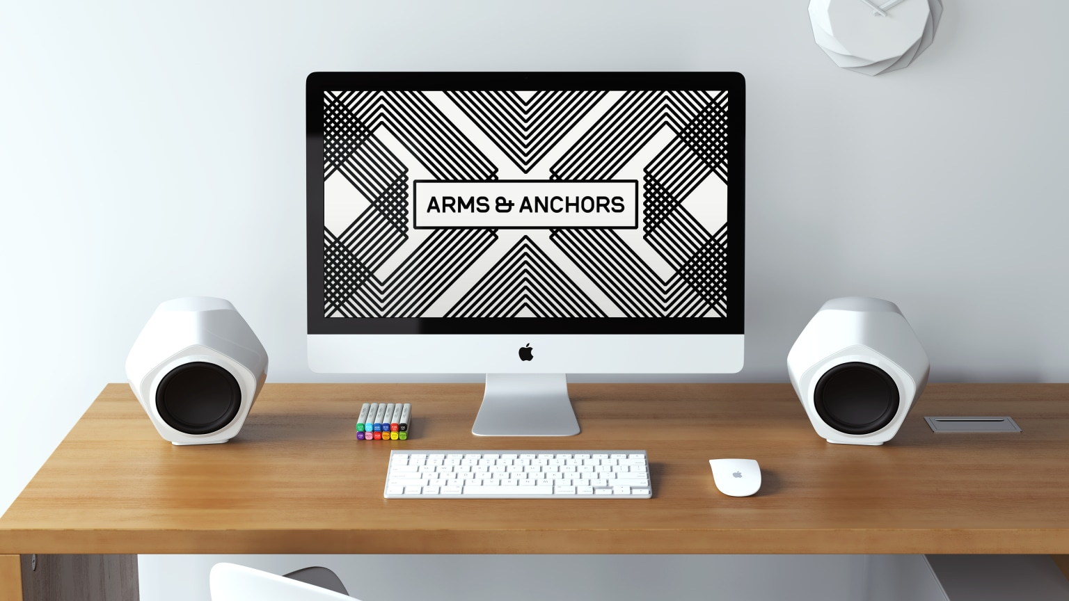 Arms & Anchors Identity