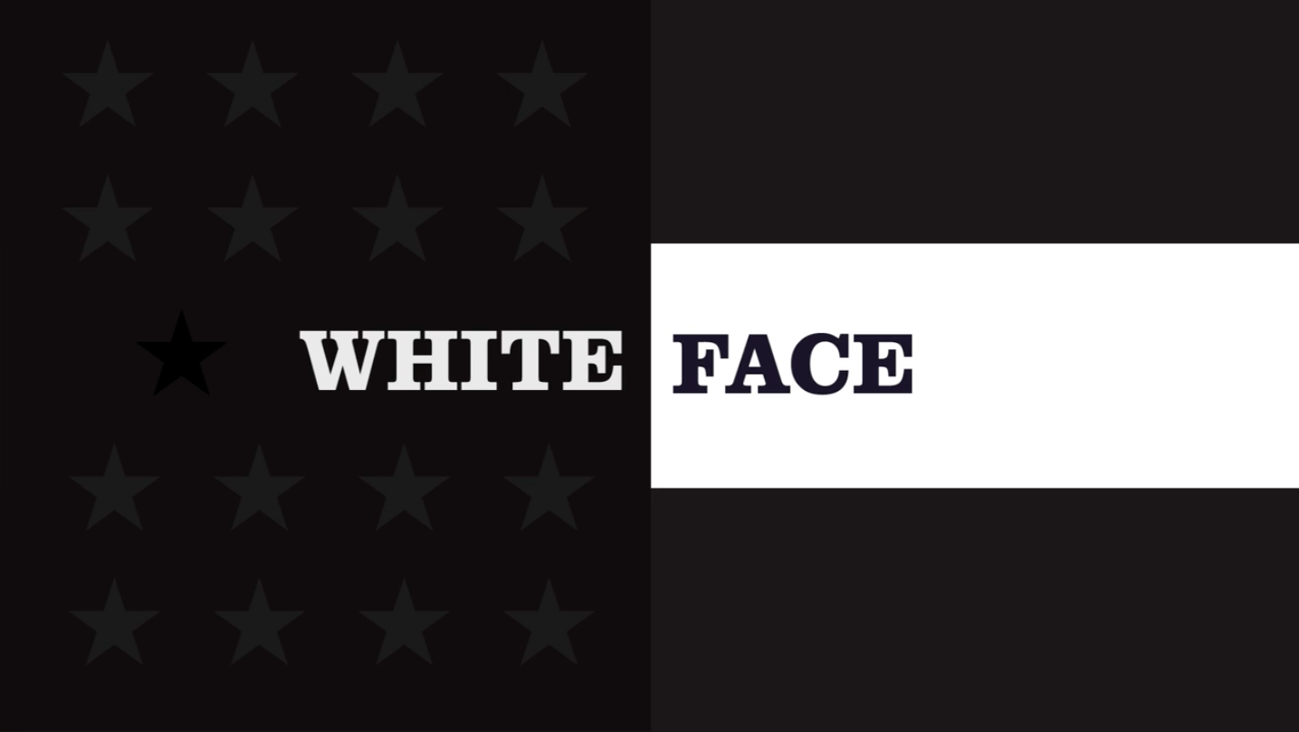 White Face - Movie Title Screen