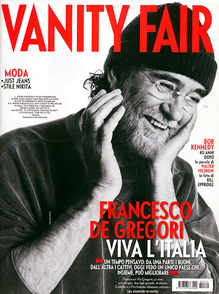 VANITY FAIR - FRANCESCO DE GREGORI