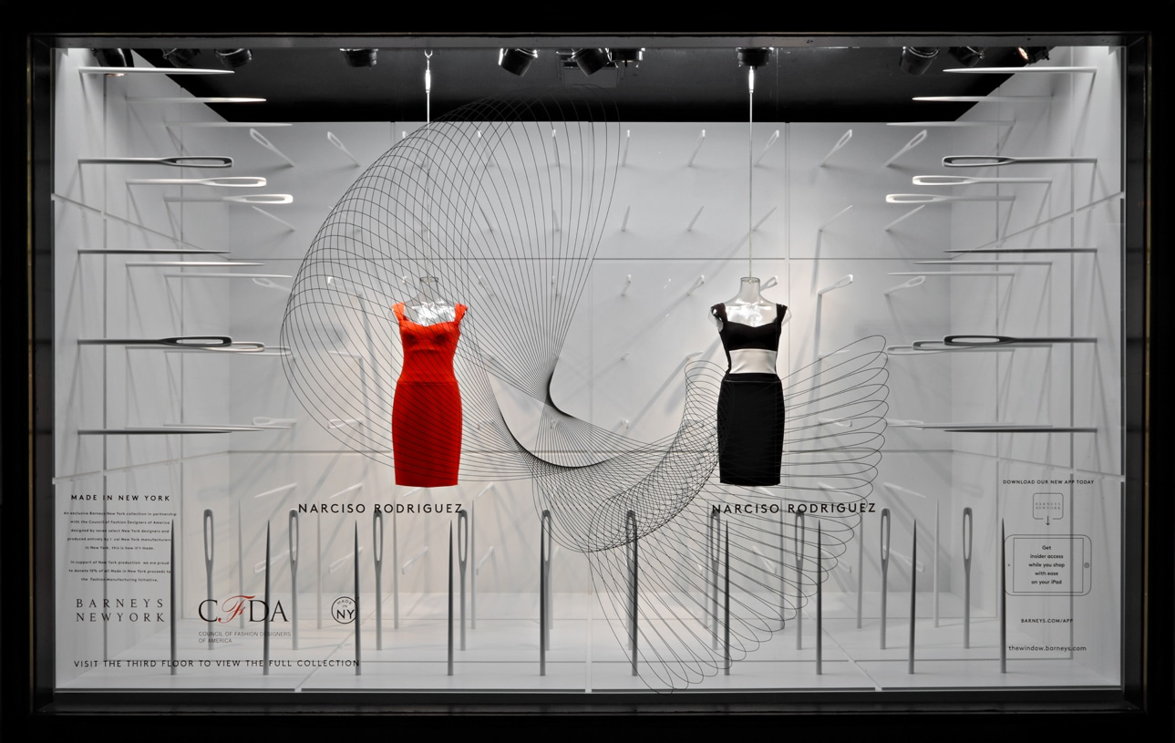 CFDA Window Graphics for Barneys New York
